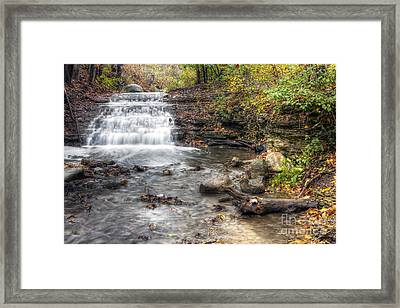 0278 South Elgin Waterfall Framed Print