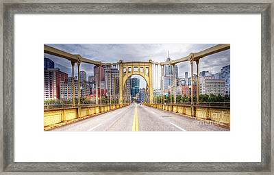 0305  Pittsburgh 10 Framed Print