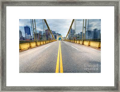 0306 Pittsburgh 9 Framed Print