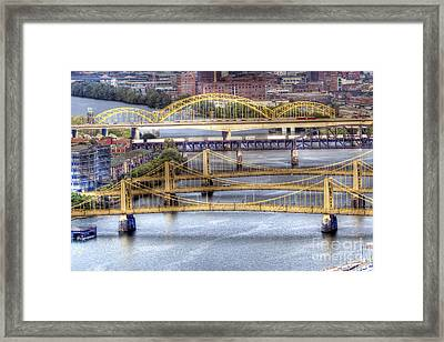 0307 Pittsburgh 8 Framed Print by Steve Sturgill