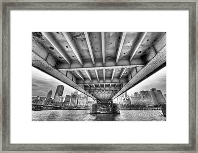 0308 Pittsburgh 5 Framed Print by Steve Sturgill