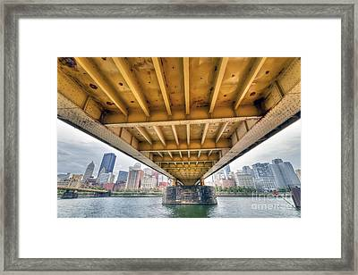 0309 Pittsburgh 4 Framed Print by Steve Sturgill