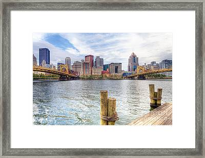 0310 Pittsburgh 3 Framed Print by Steve Sturgill