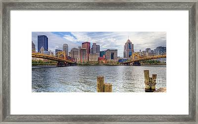 0311 Pittsburgh 1 Framed Print by Steve Sturgill