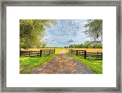 0325-327-220 Framed Print