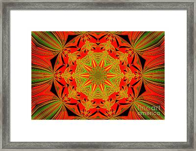 Brighten Your Day.unique And Energetic Art Framed Print