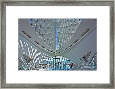 0354 Milwaukee Art Museum Framed Print