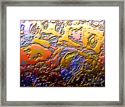 0365 Abstract Thought Framed Print