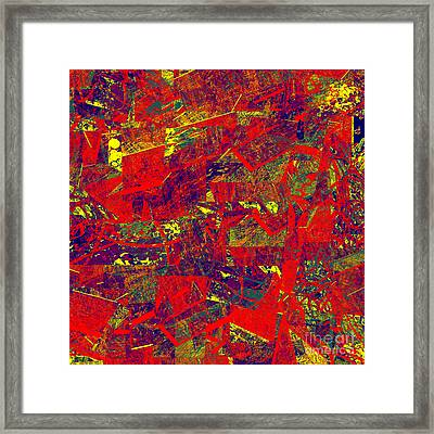 0384 Abstract Thought Framed Print