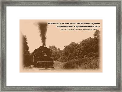 040909-1 Framed Print by Mike Davis