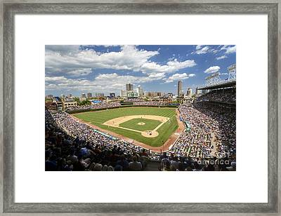 0415 Wrigley Field Chicago Framed Print