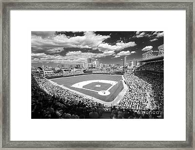 0416 Wrigley Field Chicago Framed Print