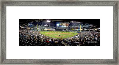 0434 Safeco Field Panoramic Framed Print