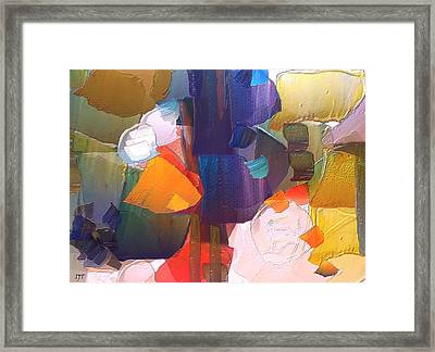 Intuitive Feeling Framed Print by I J T Son Of Jesus