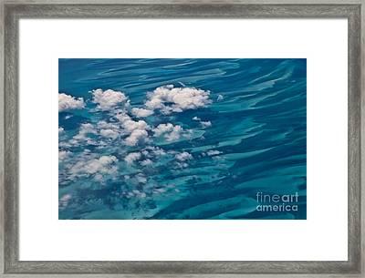 0458 Above The Caribbean Framed Print by Steve Sturgill
