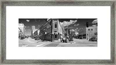 0465 Elgin Illinois Panoramic Framed Print