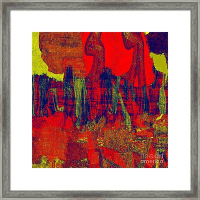 0486 Abstract Thought Framed Print