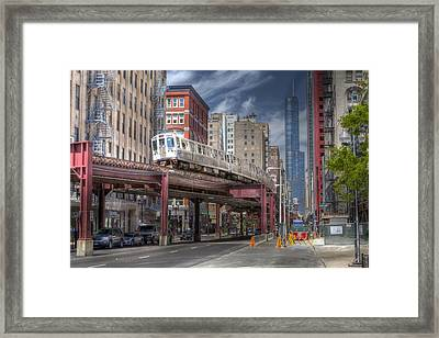 0489 Wabash Avenue Chicago Framed Print