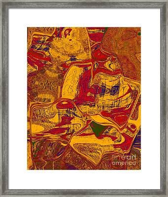 0518 Abstract Thought Framed Print by Chowdary V Arikatla
