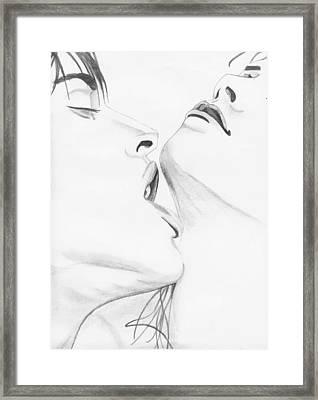 054 Framed Print