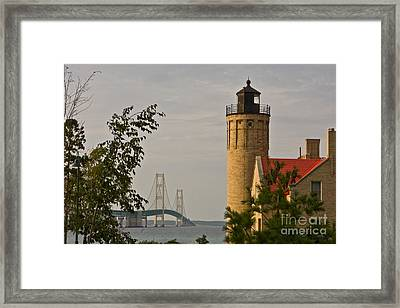 0558 Old Mackinac Point Lighthouse Framed Print