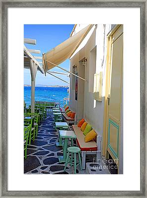 0560 Mykonos Greece Framed Print