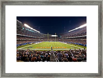 0588 Soldier Field Chicago Framed Print