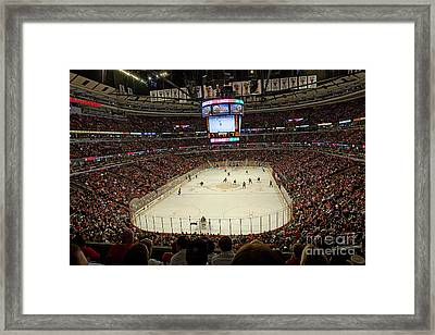 0616 The United Center - Chicago Framed Print