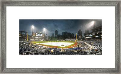 0646 Rain Delay - Pnc Park Pittsburgh Framed Print