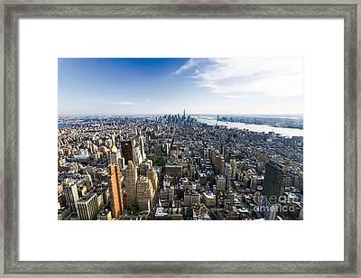 0653 New York Framed Print by Steve Sturgill