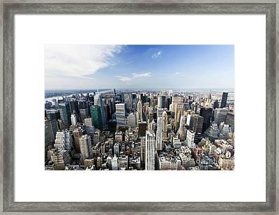 0654 New York City Framed Print by Steve Sturgill