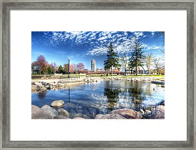 0663 Elgin From Walton Island Framed Print
