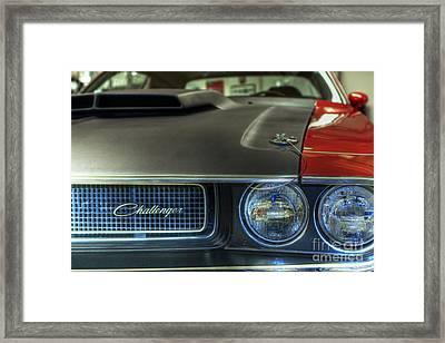 0672 Challenger Framed Print by Steve Sturgill