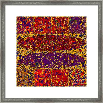 0688 Abstract Thought Framed Print by Chowdary V Arikatla