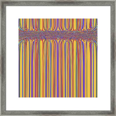 0699 Abstract Thought Framed Print by Chowdary V Arikatla