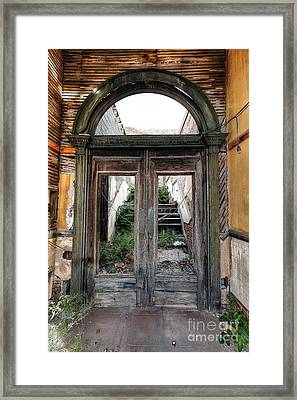 0707 Jerome Ghost Town Framed Print