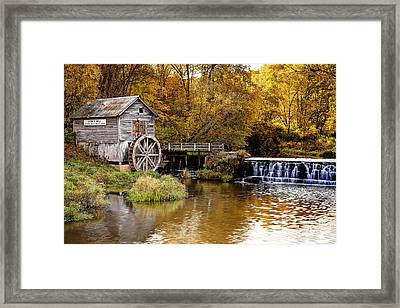 0722 Hyde's Mill Framed Print