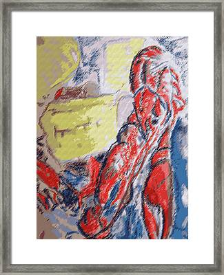 073114 Crawfish.jpg Framed Print