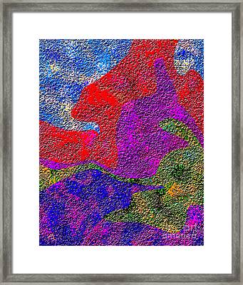 0732 Abstract Thought Framed Print by Chowdary V Arikatla