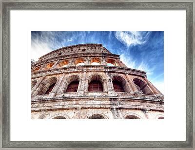 0796 Roman Colosseum Framed Print
