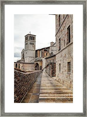 0799 Assisi Italy Framed Print by Steve Sturgill