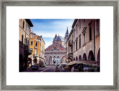 0803 Basilica Of Saint Anthony Of Padua Framed Print by Steve Sturgill