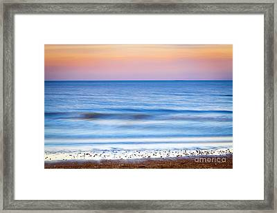0847 Lake Michigan - Evanston Illinois Framed Print by Steve Sturgill