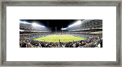 0856 Soldier Field Panoramic Framed Print