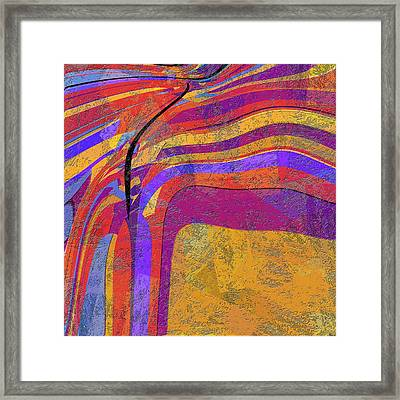 0871 Abstract Thought Framed Print by Chowdary V Arikatla