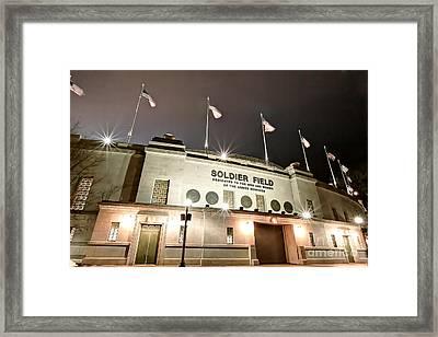 0878 Soldier Field Framed Print