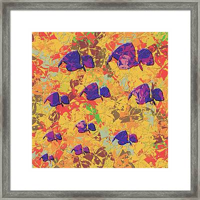 0886 Abstract Thought Framed Print by Chowdary V Arikatla