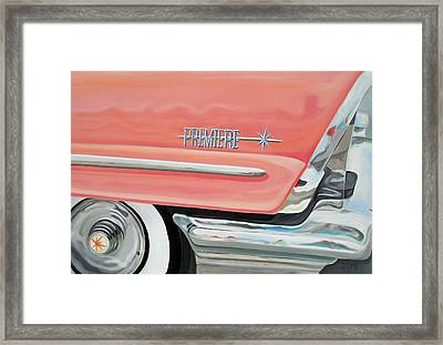 090 Coral Charmer Framed Print by Gregory Otvos
