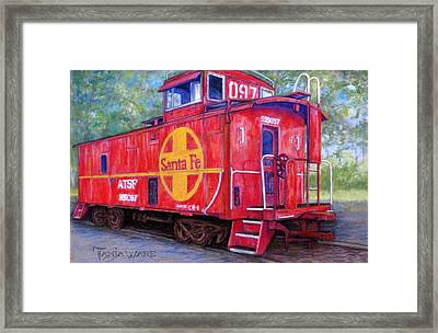 097 Framed Print by Tanja Ware