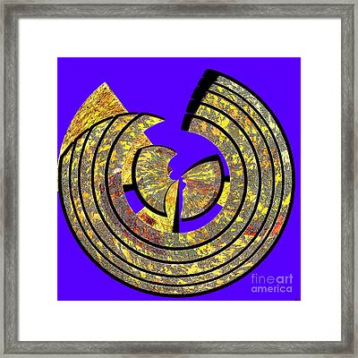 0985 Abstract Thought Framed Print by Chowdary V Arikatla